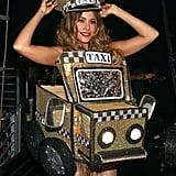 Sofia Vergara made a cameo as a taxi cab in 2016.