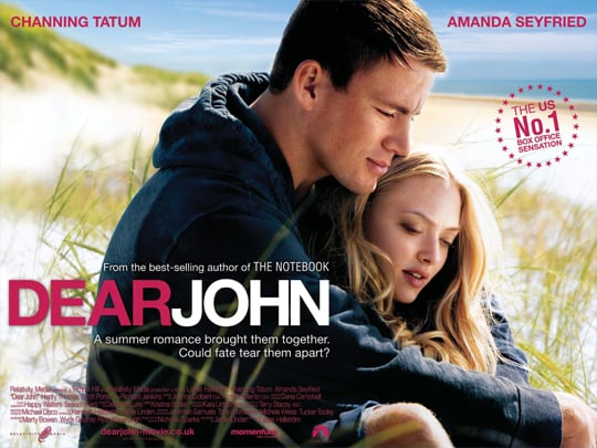 Watch Trailer For Dear John Starring Channing Tatum and Amanda Seyfried