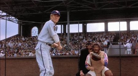Robert Redford was also an '80s baseball player.