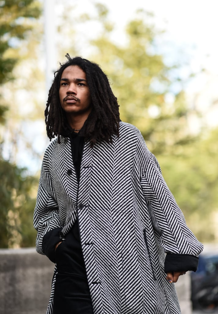 The cast of Grown-ish is filled with talented stars, but the show also includes plenty of eye candy. With Trevor Jackson and Luka Sabbat as the main male leads, it's easy to swoon at our TV screens each week. Luka, who plays the free-spirited Luca Hall, has a ton of dedicated fans enchanted by his too-cool-for-school aesthetic and laid-back personality. If you are already a part of #TeamLuca or still need some convincing, keep reading to see photos of the breakout star that prove he's a walking work of art.      Related:                                                                                                           You Are Cordially Invited to Thirst Over These Photos of Grown-ish Star Trevor Jackson