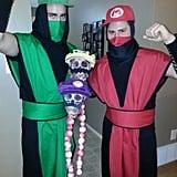 Mortal Kombat Mario and Lugi