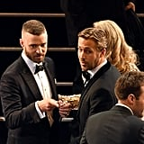 Justin Timberlake and Ryan Gosling