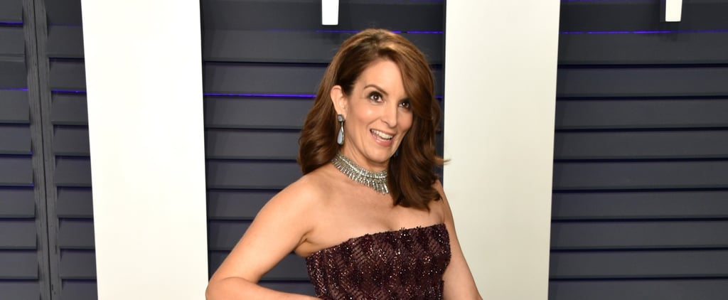 Tina Fey's Converse Sneakers at Vanity Fair Oscar Party 2019