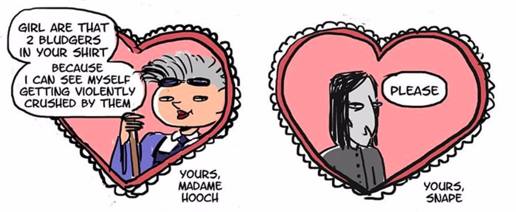 Skip the Amortentia and Give Your Crush One of These Harry Potter Valentines