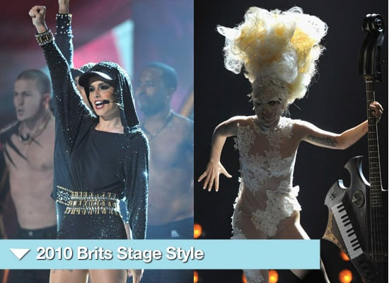 Photos from the Brit Awards 2010 Performance Style