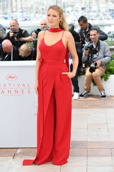 Blake Lively Juan Carlos Obando Jumpsuit at Cannes 2016