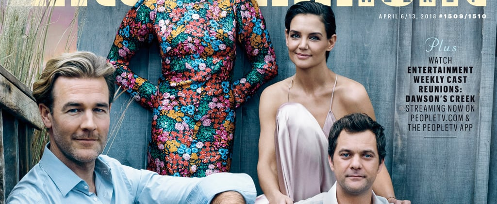 Dawson's Creek Cast Reunion on EW Cover 2018
