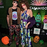 Rande Gerber and Cindy Crawford as '60s Stars