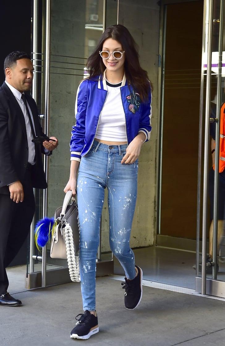 Model jeans image Models Wearing Skinny Jeans Popsugar Fashion