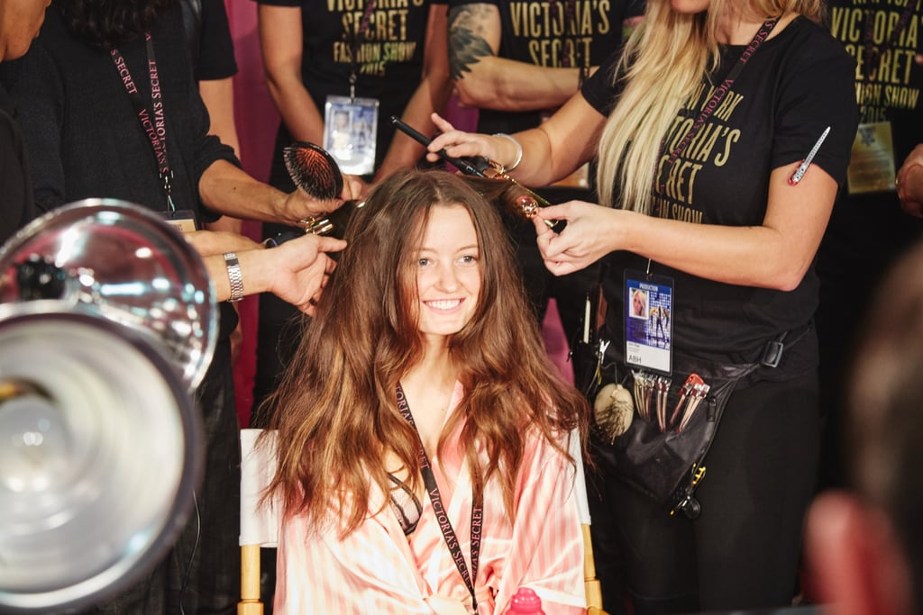 This Victorias Secret Model Makeover Will Make You Want Hair Extensions