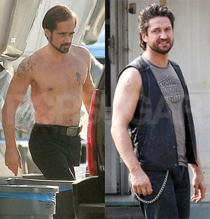 PopSugar Poll: Whose On Set Make-Under Is More Dramatic — Colin's or Gerard's?