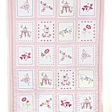 Pink Pagoda Embroidered Quilt ($199-299)