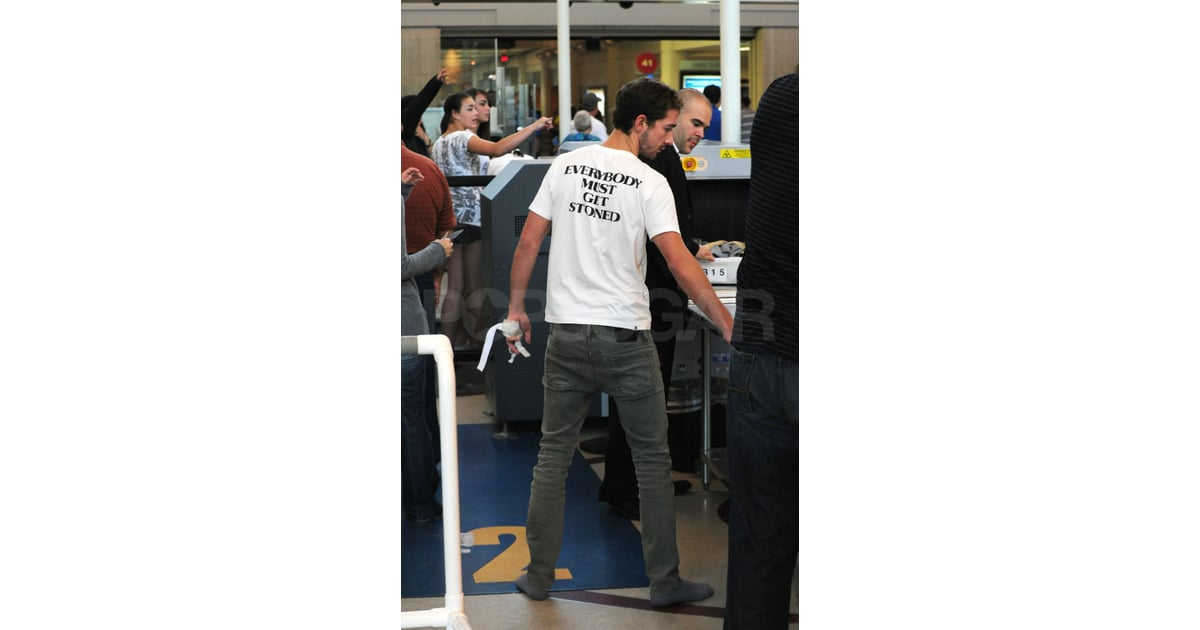 Shia at the airport popsugar celebrity photo 8 - Transformers 2 box office ...