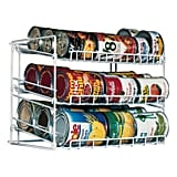 Atlantic Kitchen Storage Can Rack in White