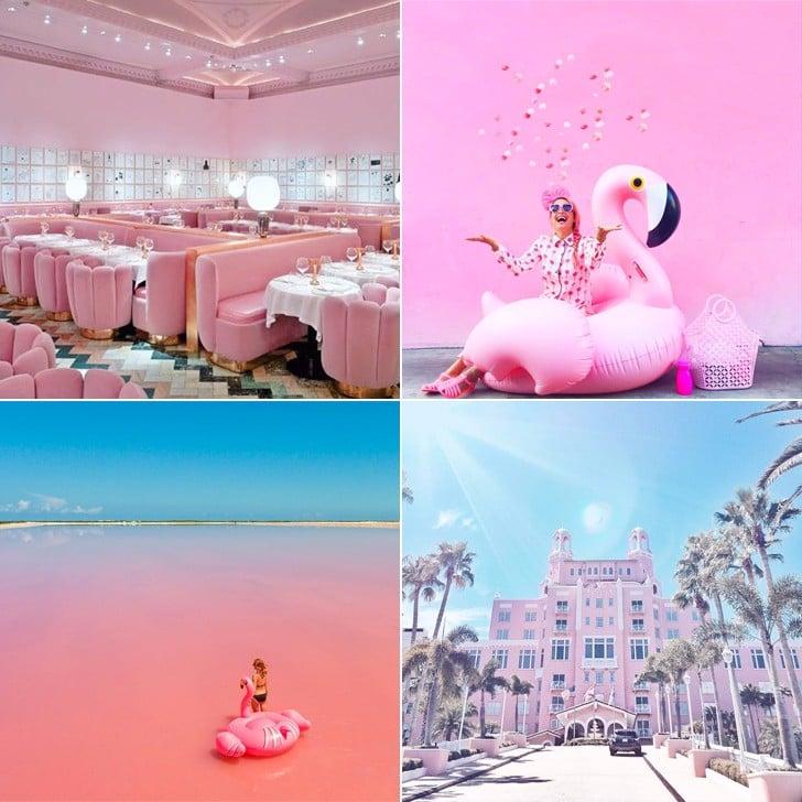 Millenial Pink Travel Destinations