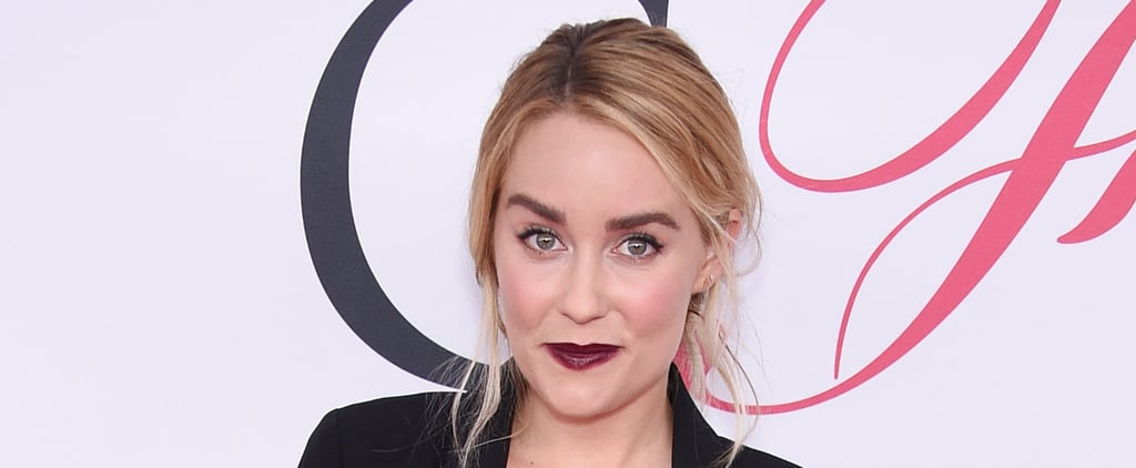 Lauren Conrad Trades In Her Sweet Cat Eye For a Vampy Lip at the CFDAs