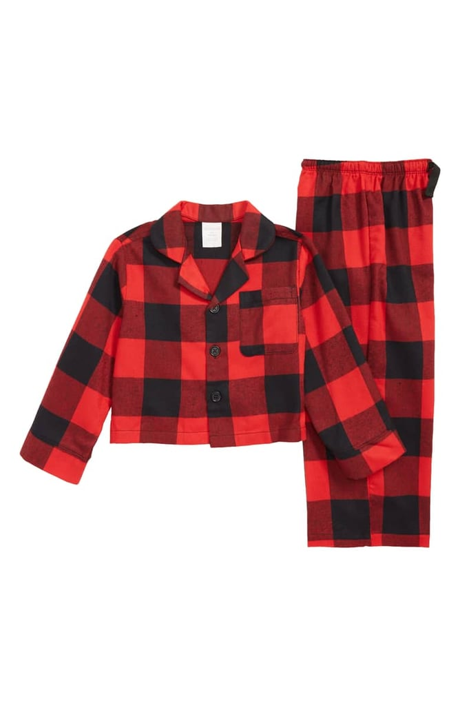 Nordstrom Flannel Pajamas (Toddlers, Little Kids & Big Kids)