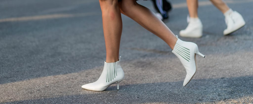 White Ankle Boots Are the Versatile Shoe Street Style Stars Can't Get Enough of