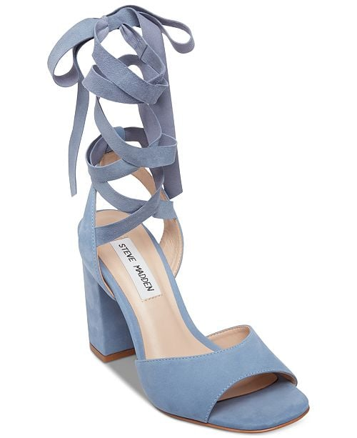 1c440656cc4 Steve Madden Kenny Tie-Up Sandals | Macy's Shoes on Sale 2019 ...