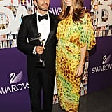 Marc Jacobs and Jessica Biel in Diane von Furstenberg