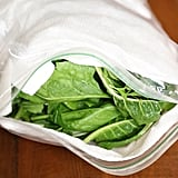 Eat more greens by storing them properly.