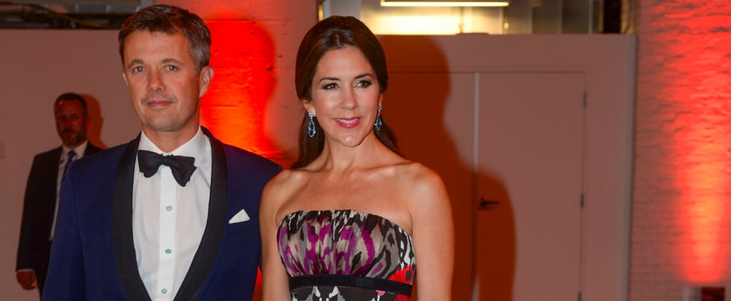 Princess Mary's Printed Gown Sept. 2016