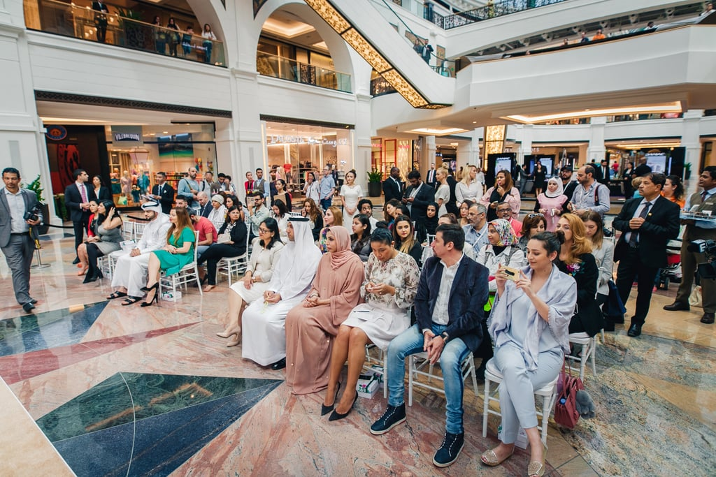 Sheikha Hend Al Qassemi at Mall of the Emirates, Dubai 2017