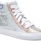 Keds Kids' Double Up High Top Sparkle Sneakers