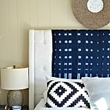 Drape Fabric Over Your Headboard