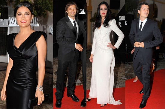 Photos of Monica Cruz, Olivier Martinez, Salma Hayek, Orlando Bloom, and Eva Green Celebrating Vanity Fair Spain