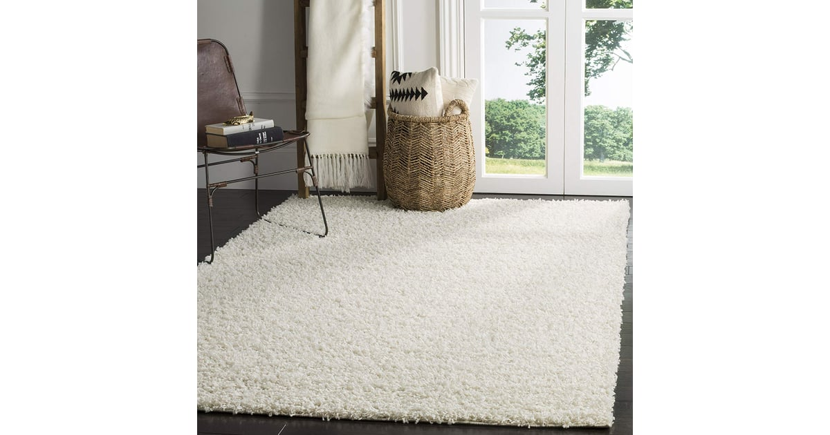 Safavieh Athens Shag Collection White Area Rug Best Home