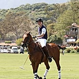 Prince William plays polo in Santa Barbara.