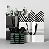 Striped Gift Bags in Small ($1), Wide ($3), and Tall ($3)