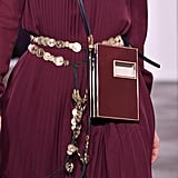 A Belt on the Gabriela Hearst Runway at New York Fashion Week