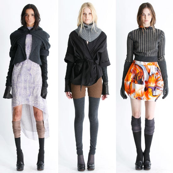 Pictures of Vera Wang's Pre Fall 2012 Runway Collection: Knee High Socks, Asymetrical Hemlines, Cool Layering & more