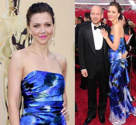 Photos of Maggie Gyllenhaal and Peter Sarsgaard at the 2010 Oscars 2010-03-07 16:12:45