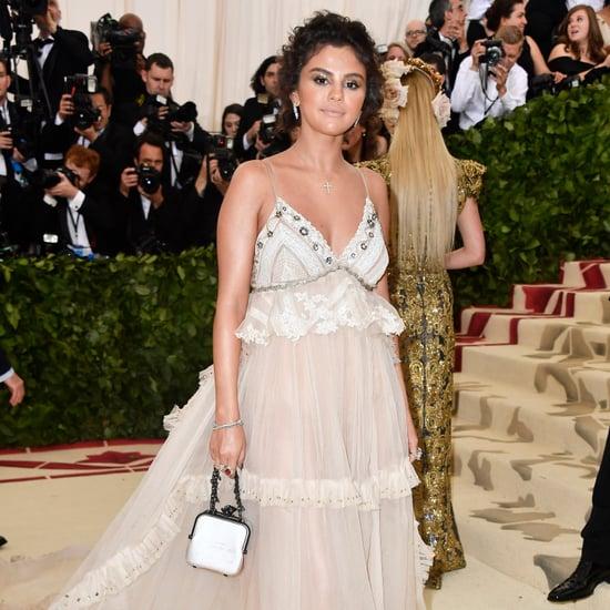 Selena Gomez's Coach Purse at Met Gala 2018