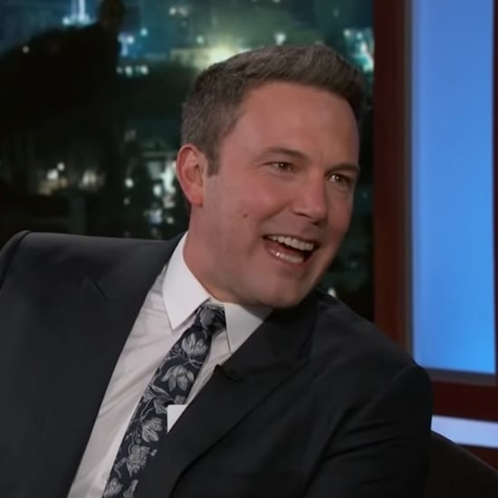 Ben Affleck on Jimmy Kimmel Live February 2019