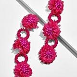 BaubleBar Vernita Flower Drop Earrings
