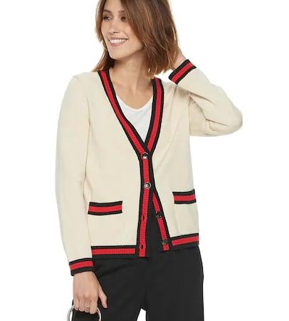 Varsity Cardigan Sweater