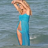 Erin Heatherton posed for a bikini photo shoot in Miami.