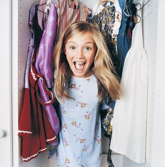 Lil Tip: Color Coordinate Lil Closets
