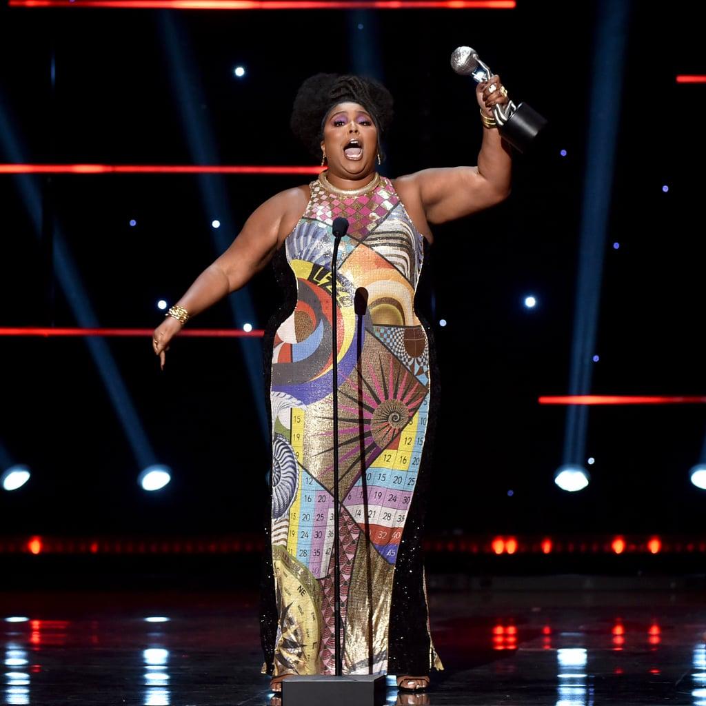 Lizzo Wore a Mary Katrantzou Dress to NAACP Image Awards