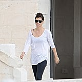 Jessica Biel walked at the Borgo Egnazia Resort in Italy.