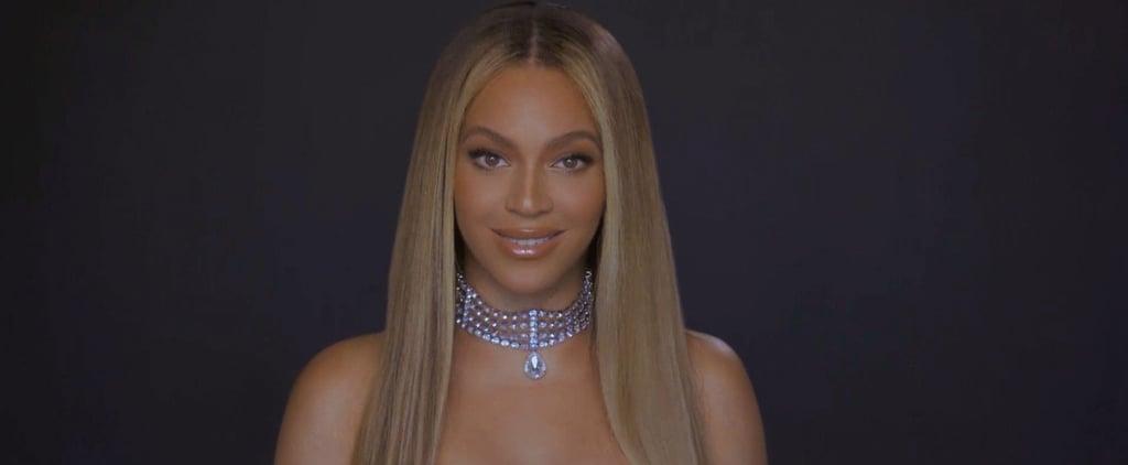 Watch Beyoncé Accept the Humanitarian Award at BET Awards