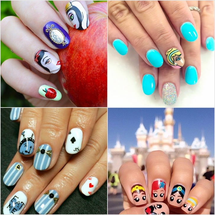 Disney Nail Art Ideas - Disney Nail Art Ideas POPSUGAR Beauty