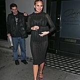 Shop Chrissy's Bold Dress
