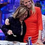 Gwyneth Paltrow filmed a cooking segment on El Hormiguero.