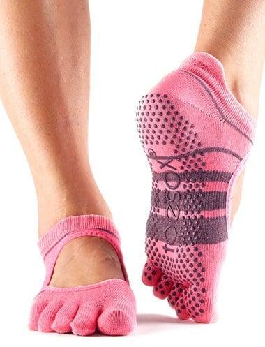 ToeSox Bellarina Full Toe Gripper Socks
