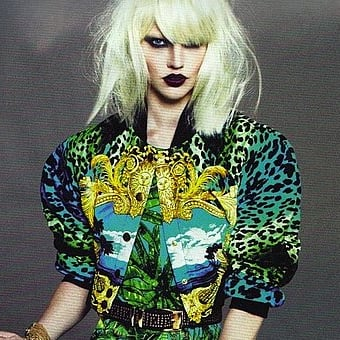 Pictures of Versace for H&M Collection: See Abbey Lee Kershaw and Daphne Groeneveld model the Killer Designer Collab: